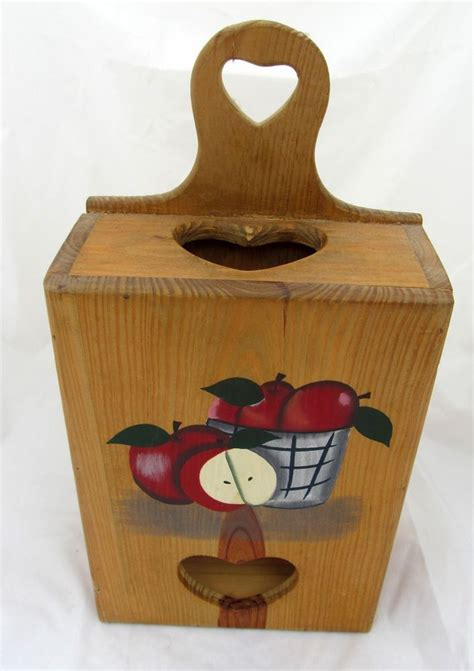 Apple Kitchen Decor Plastic Bag Holder by 1000 Images About Grocery Bag Holder On