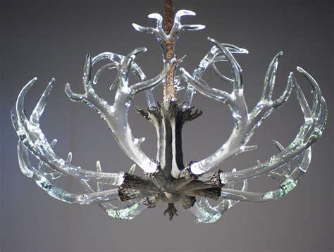 antler chandelier eclectic chandeliers