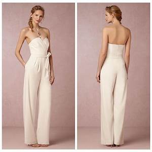 ivory chiffon reception jumpsuit for bridal wedding after With after wedding dress for bride