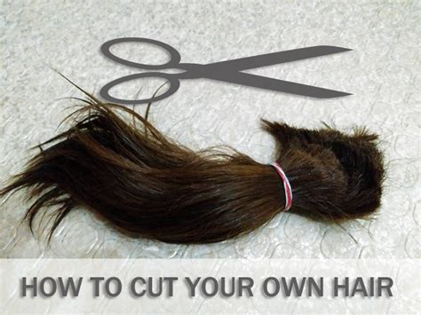 how to style your own hair how to cut your own hair bob haircut and view 8989
