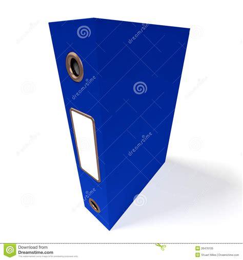 le de bureau bleu dossier bleu pour obtenir le bureau organisé photo libre