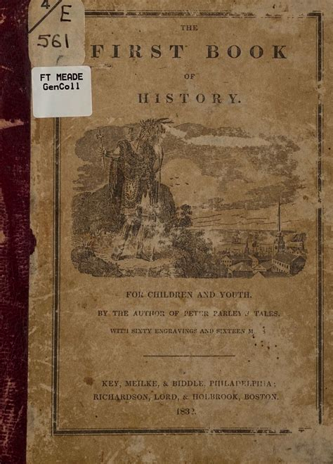 The first book of history, for children and youth ...