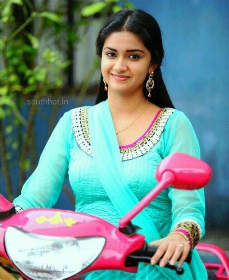 Keerthi Suresh Beautiful Indian Actress Indian