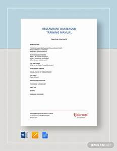 Restaurant Employee Training Checklist Template  Download