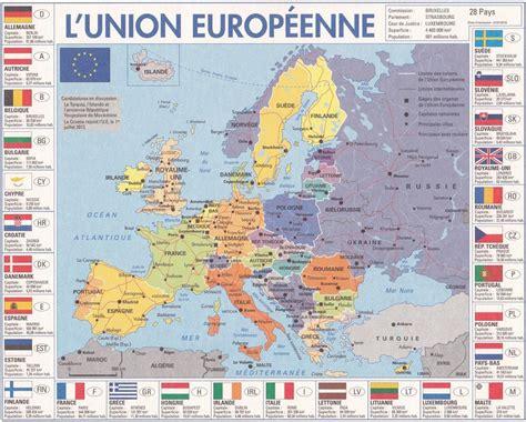 Carte Routière De L Europe 2017 by Carte Europe Carte Du Monde