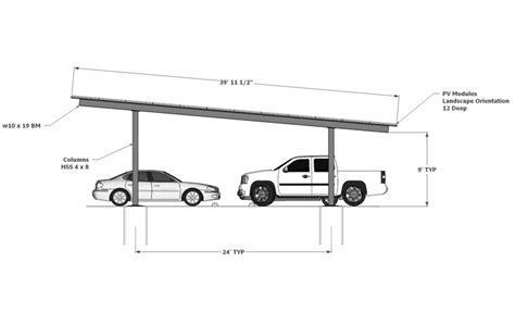 Solar Two Column Double ? Carport Structures Corp.