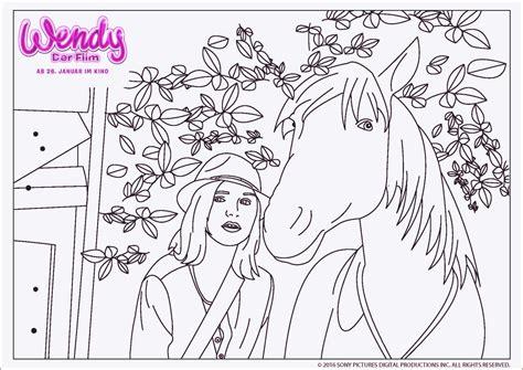 Ausmalbilder Pferde Bibi Und Tina