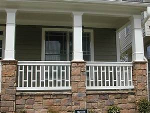 1000 ideas about front porch railings on pinterest With 4 creative porch railing ideas for your house