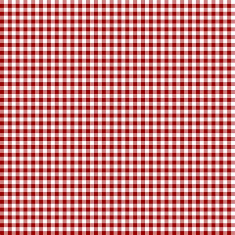 Red Checkered Scrapbook Paper