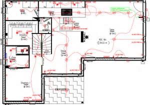 plan electrique salle de bain plan 233 lectrique zehouse s