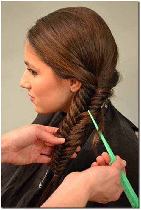 fishtail side braid tutorial hairstyle blog