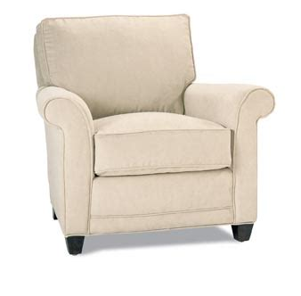 mayflower chair and ottoman by rowe furniture