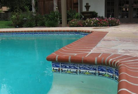 Traditional Mexican House, Spanish Pool Tile Designs Pool
