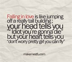 falling in love | Love Quotes | Pinterest | Girls, My ...
