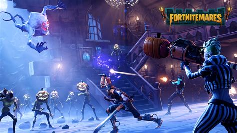 fortnite halloween update brings festivities  gameplay