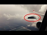 Top 5 REAL UFO Sightings from Plane - YouTube