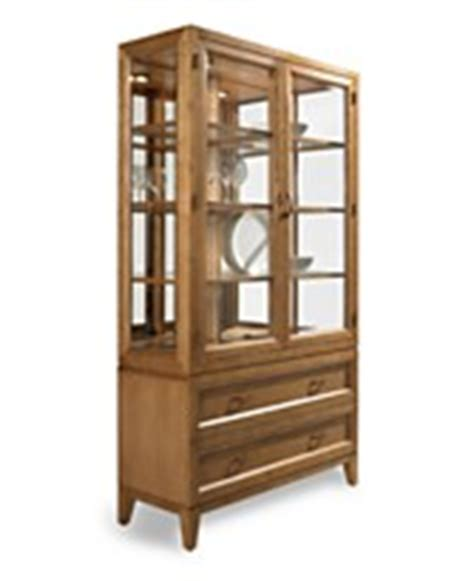 macys chagne china cabinet china curio cabinets from macys by ralph dining
