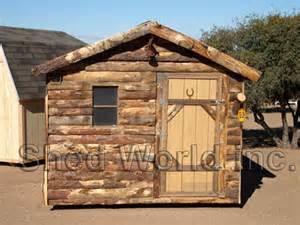 Log Cabin Shed Plans