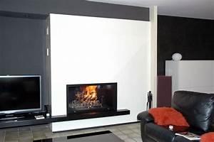 Cheminée Contemporaine Foyer Fermé : marques fabricants cheminee design moderne ~ Melissatoandfro.com Idées de Décoration