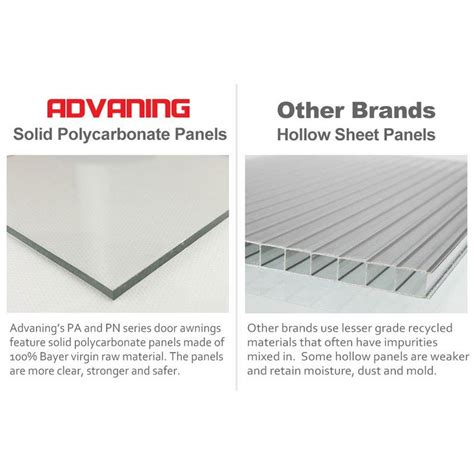 pa series convex door awning door awnings polycarbonate panels polycarbonate roof panels