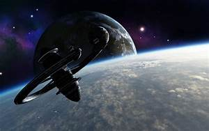 Sci-Fi Space Station Backgrounds - Pics about space
