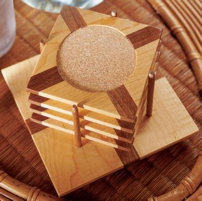 eye catching coasters woodworking plan  wood magazine