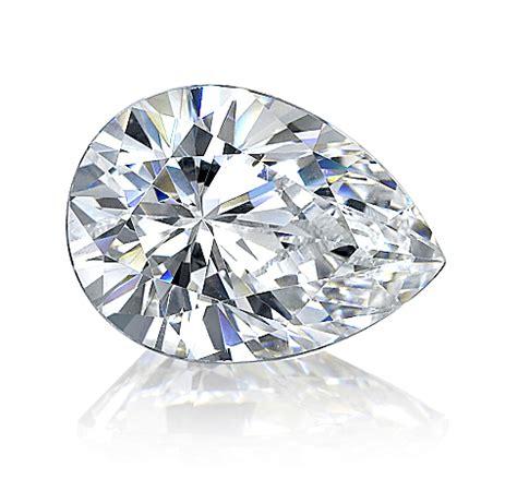 Loose Asha Pear Diamond Simulant - Fake Diamonds