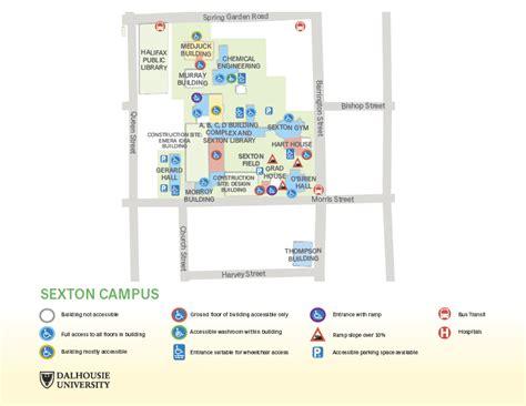 Accessibility Campus Maps Dalhousie University