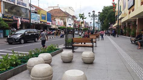 karakteristik pedestrian ways trotoar  joglosemar