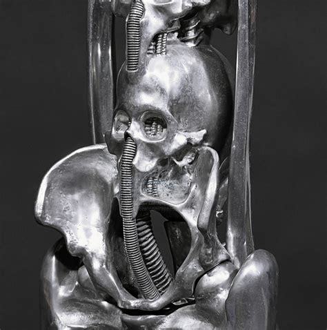 giger harkonnen capo chair h r giger giger owned aluminium harkonnen quot capo quot chair