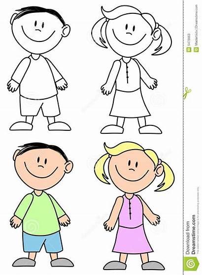 Clipart Boy Preschool Face Simple Smiling Bambini