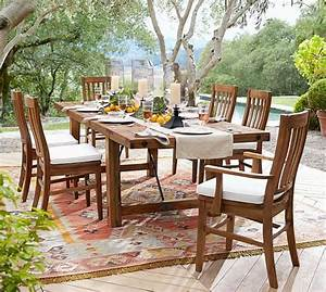 pottery barn outdoor clearance event home romantic With discontinued pottery barn dining tables