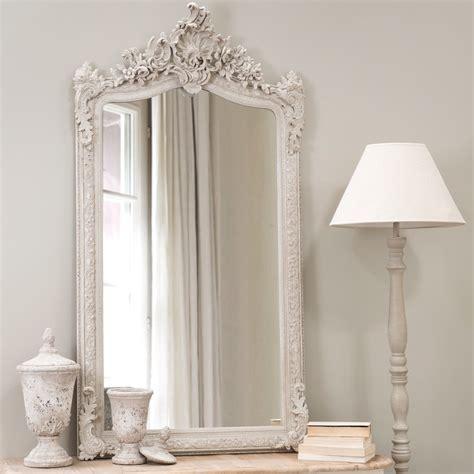 miroir en resine gris   cm conservatoire maisons du monde