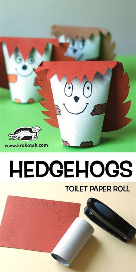 Bastelideen Mit Toilettenpapierrollen by Hedgehogs Toilet Paper Roll Klopapierrollen 183 Toilet