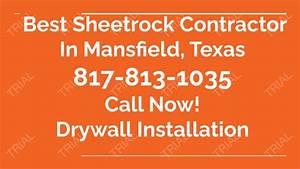 Mansfield Tx Drywall Installation 817