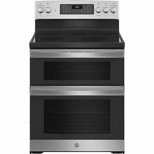 Ge 30 In  6 6 Cu  Ft  Double Oven Electric Range With