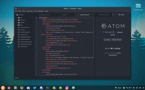 it s now easy to install atom text editor on ubuntu