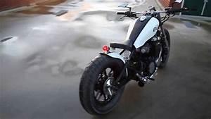 Honda Nighthawk 650 Bobber By Nc Customs