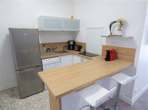 cuisine de studio table cuisine 4 personnes location vacances appartement