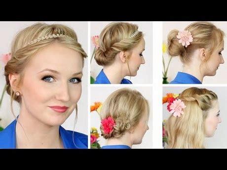 frisuren tutorial mittellange haare frisuren halblange haare hochstecken