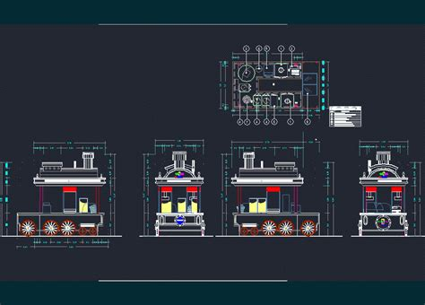small train station cangil dwg block  autocad designs cad