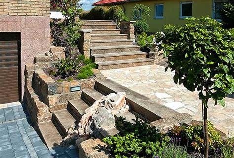 Treppe Für Terrasse by Wege Treppen Und Terrassen Gartengestaltung Mit