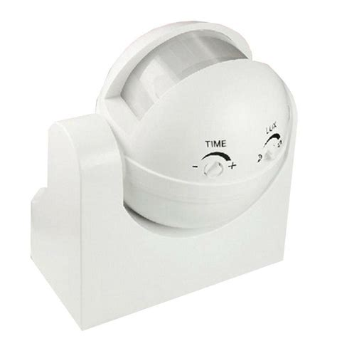occupancy sensor pir motion light switch wall mounted 1200w max adjustable white 799493545951 ebay