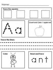 morning work preschool kindergarten special education