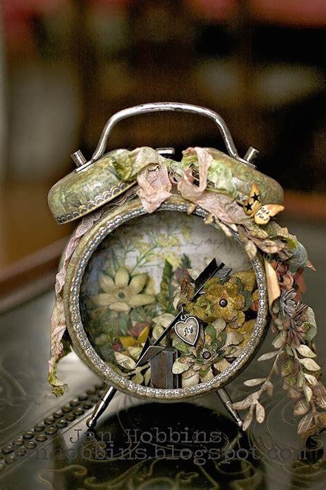 altered vintage alarm clocks   crafty diy