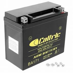Agm Battery For Polaris 600 Dragon Iq Shift Touring Rmk