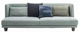 Canapé Droit 5 Places : canap droit gimme more l 240 3 places bleu ciel ~ Premium-room.com Idées de Décoration