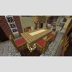 Minecraft Furniture  Chairs (and Table With Runner