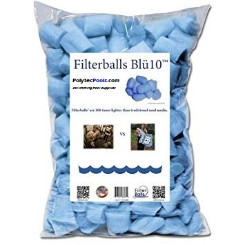 FilterBalls Replacement for Filter Sand Media
