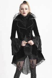 Viktorianischer Stil Kleidung : viktorianischer samt mantel mit trompeten rmeln in 2019 viktorianische kleidung frauen ~ Watch28wear.com Haus und Dekorationen